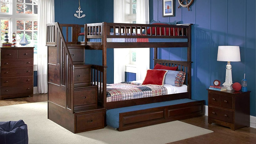 best-bunk-bed-with-trundle