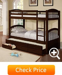 3 sleeper drawer bed