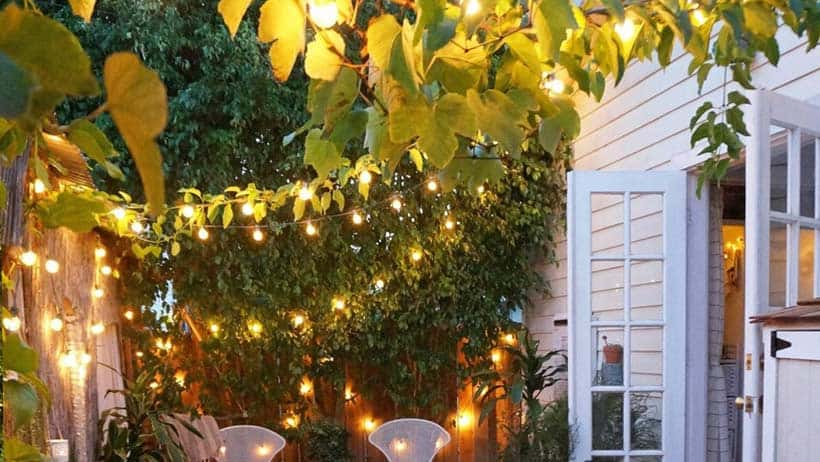 Patio Fairy Lights