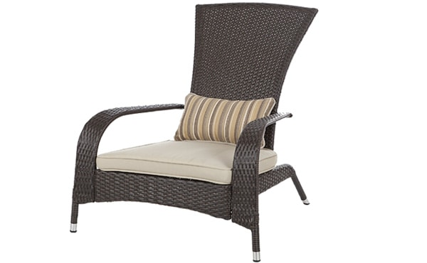 Delicieux Wicker Adirondack Chair
