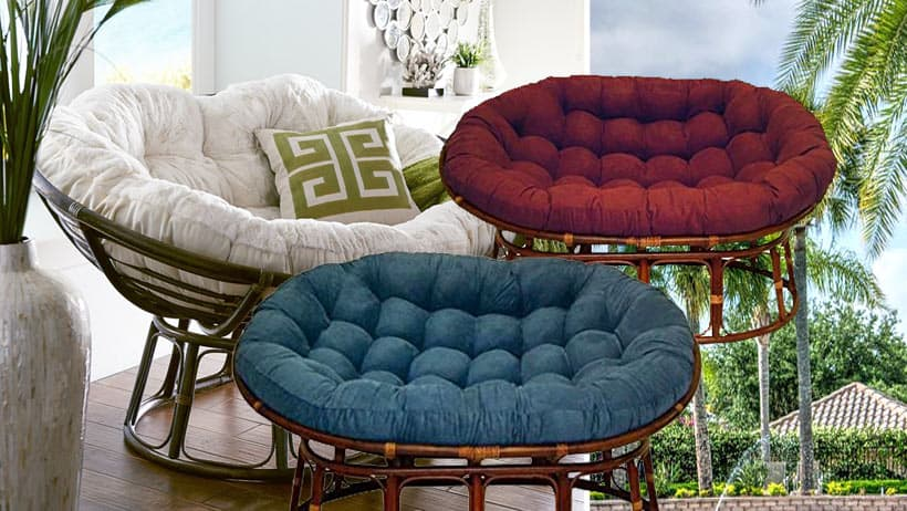 Double Papasan Chair Couch