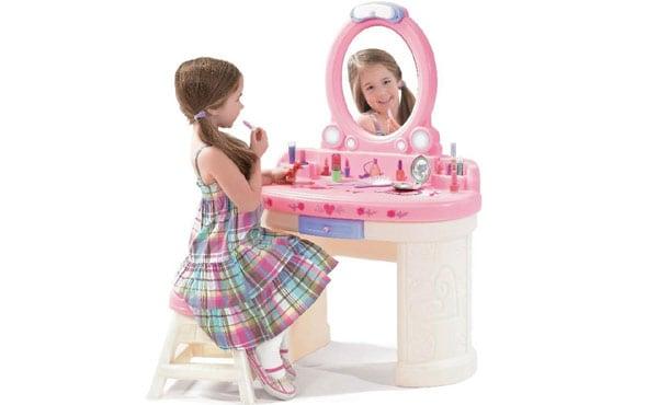 Little girls kids vanity set