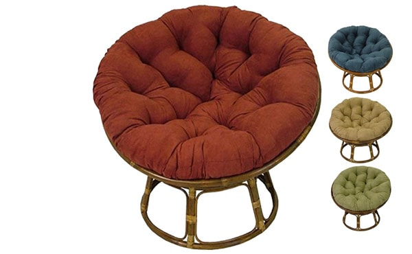 Beau This Is The Classic Traditional Papasan Chair, The Beautiful Papasan Chair  Frame Is Made Of Rattan And Has A Plush Microsuede Papasan Cushion.