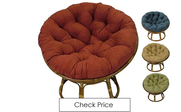 This Is The Classic Traditional Papasan Chair Beautiful Frame Made Of Rattan And Has A Plush Microsuede Cushion